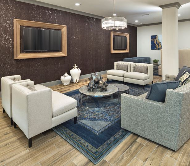Luxury apartments phoenix - District at Biltmore TV gallery
