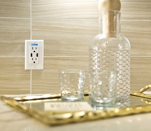 luxury apartments in phoenix az - District at Biltmore USB outlets