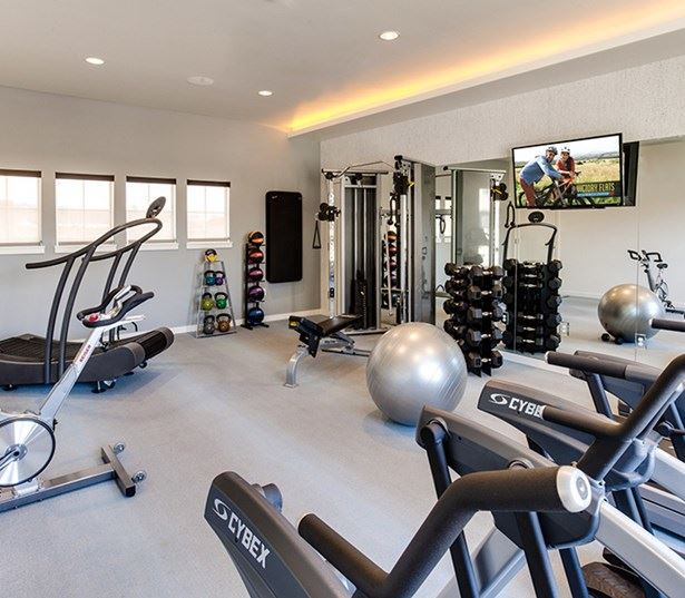 Victory Flats apartments in Beaverton near Kaiser Permanente - Fully equipped fitness center