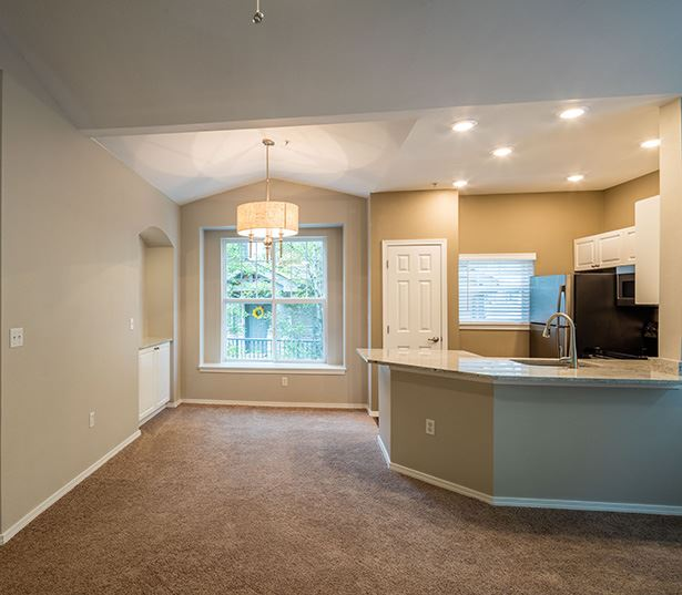 Boulder Creek apartments for rent in Issaquah near Siemens -  features upgraded lighting fixtures
