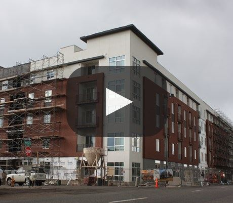 Hartley Flats Video construction time lapse Denver CO - RiNo
