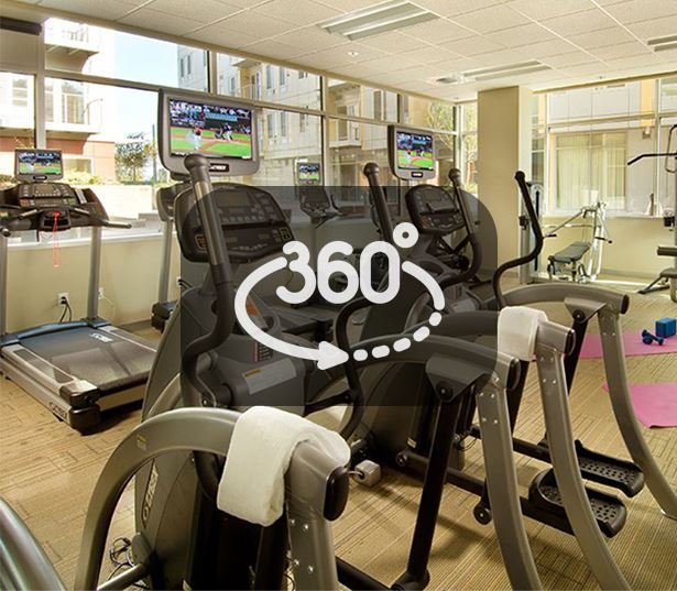 Portland, OR Apartments for rent in Macadam - The Matisse Fully equipped 24 hour fitness center