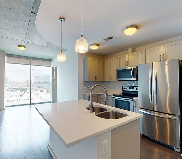 Music Row apartments for rent in Nashville - SkyHouse Nashville 11F3 / 1 Bed / 1 Bath / 691 SF