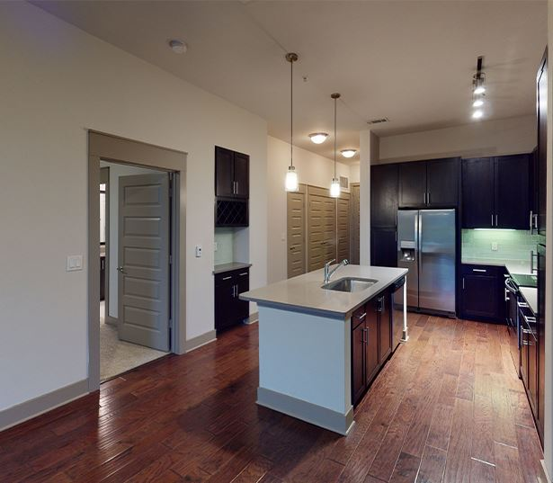 Apartments in Knox Henderson Dallas - Strata - 11S1 Strata, A18 floor plan