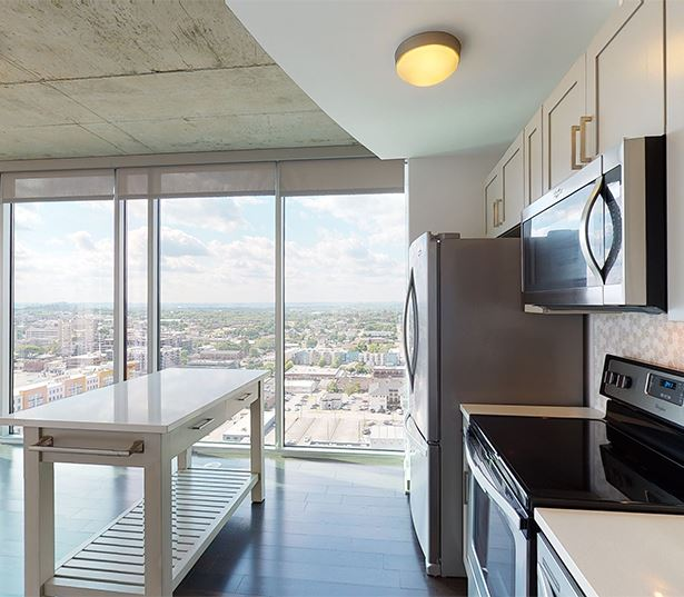 Apartments in Nashville TN - SkyHouse Nashville 22F2 / 2 Bedrooms / 2 Bathrooms / 1030 SF
