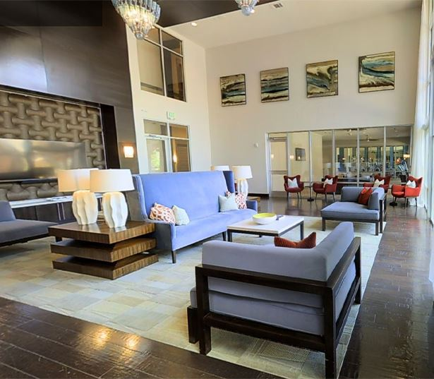 Strata Apartments in Dallas, TX - clubhouse virtual tour