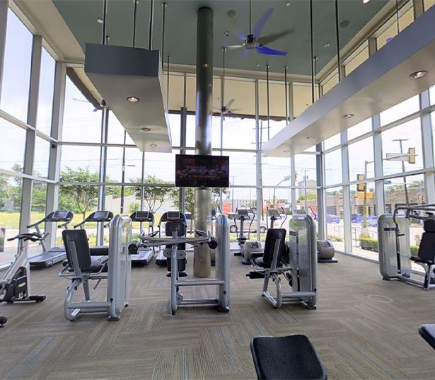 Dallas Arts District Apartments - The Icon at Ross - Fitness Center Virtual Tour