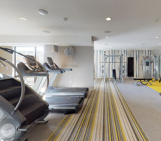 Apartments for Rent in Downtown Minneapolis - Junction Flats - Fitness Center