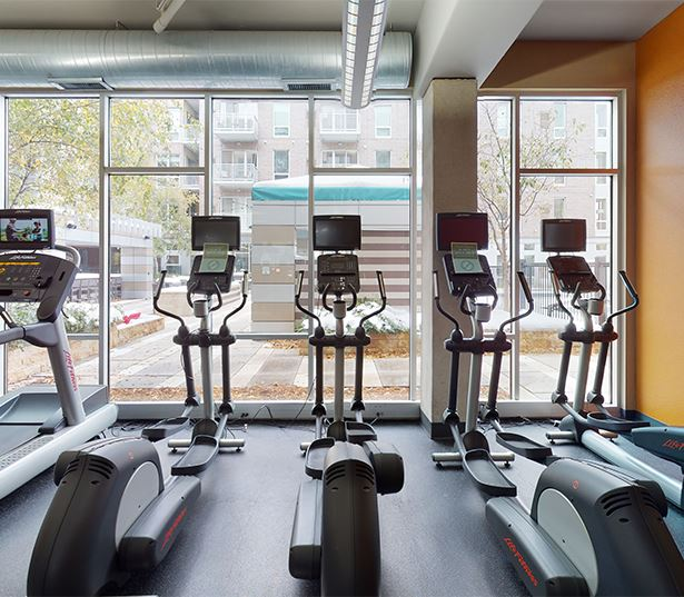 Lagoon Avenue Apartments in Minneapolis, MN | Flux Apartments | Fitness Center