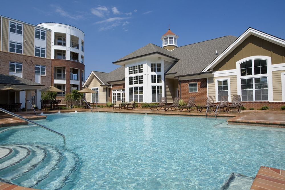 Gramercy Square at Ayrsley Large swimming pool Charlotte NC - Berewick