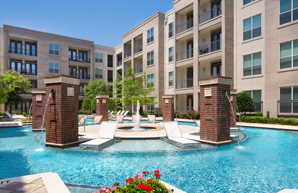 ICON at Ross pool - Uptown Dallas Apartments for Rent