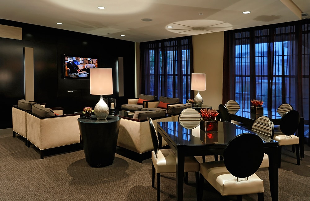 The Reserve at Tysons Corner Resident lounge Vienna VA - Mosaic District