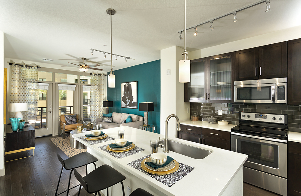 Arcadia Apartments - Citrine Luxurious interior floor plans Phoenix AZ