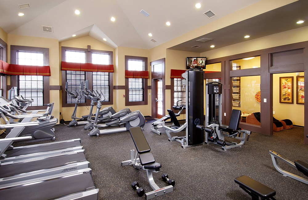Fitness Center & Exercise Room at The Sanctuary at Tallyn's Reach