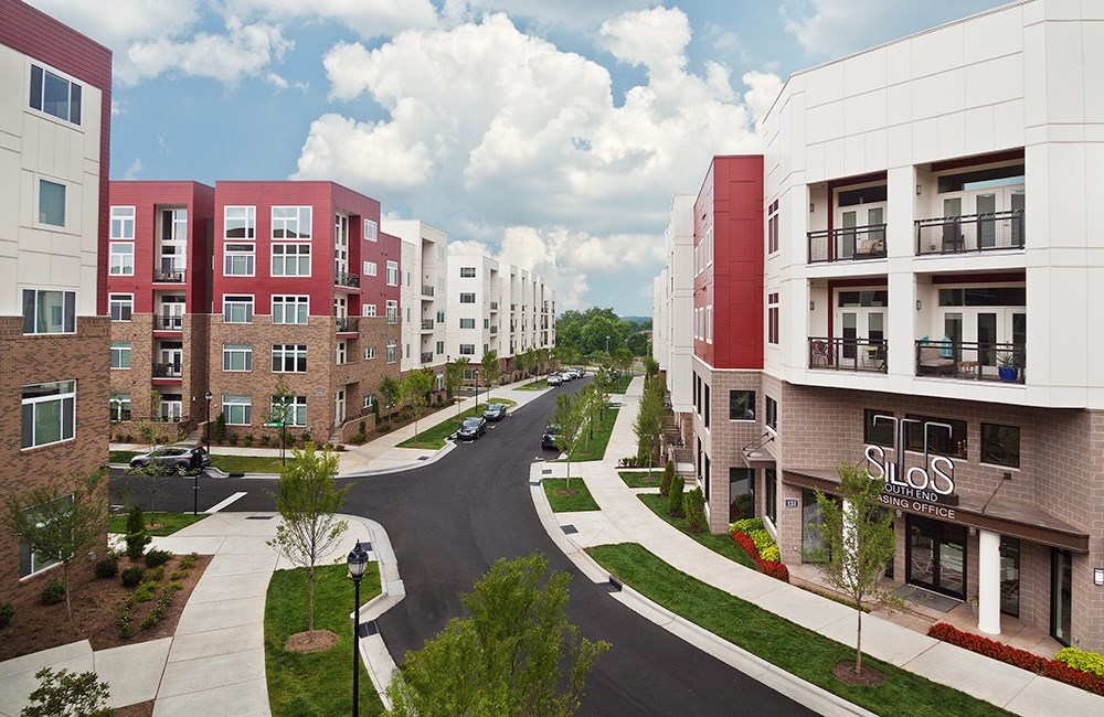 Apartments in charlotte nc silos south end simpson for Apartment reviews